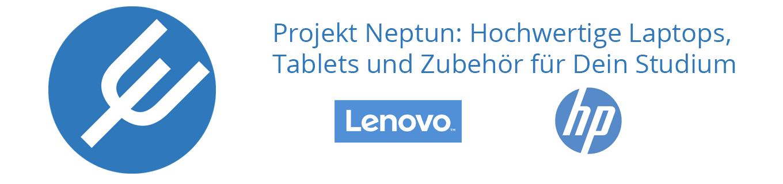 Projekt Neptun: Hochwertige Laptops, Tablets und Zubehör für dein Studium